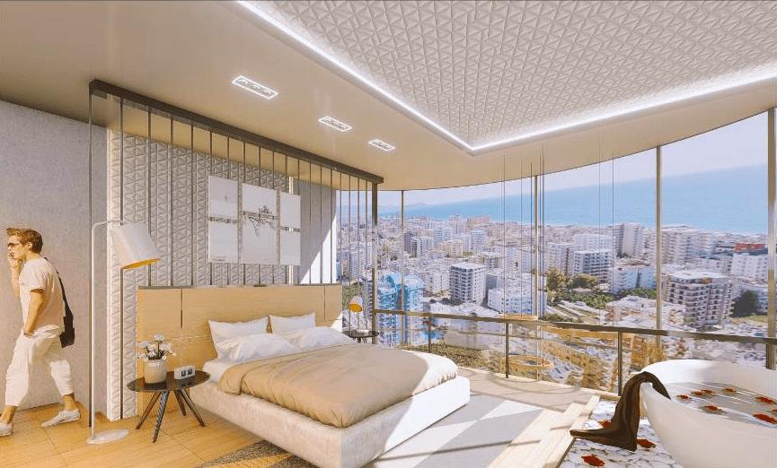 Cовременный жилой комплекс с апартаментами в стиле Loft в самом центре Махмутлара - Фото 19