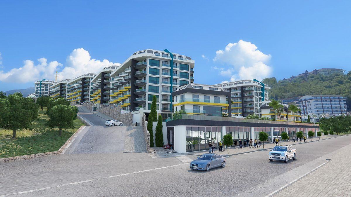 Грандиозный жилой комплекс, площадью 25.000м2, на первой береговой линии с приватным пляжем  - Фото 12