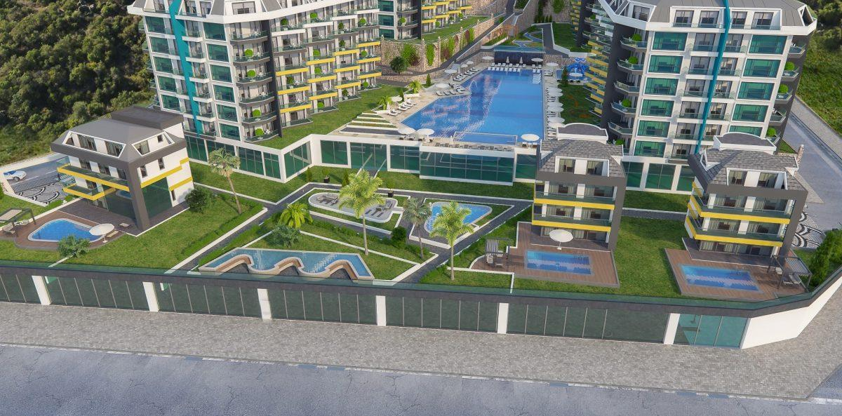 Грандиозный жилой комплекс, площадью 25.000м2, на первой береговой линии с приватным пляжем  - Фото 5