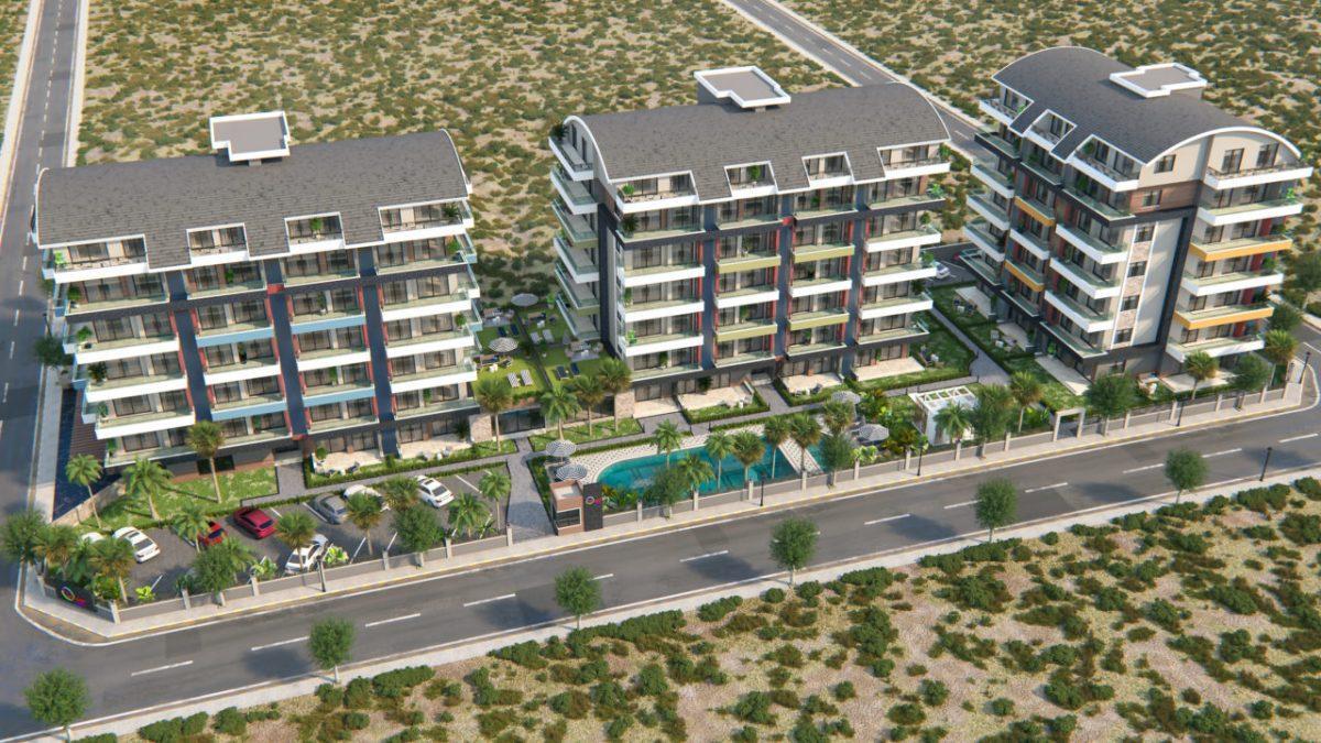Новый жилой комплекс с инфраструктурой в живописном районе Каргыджак - Фото 2