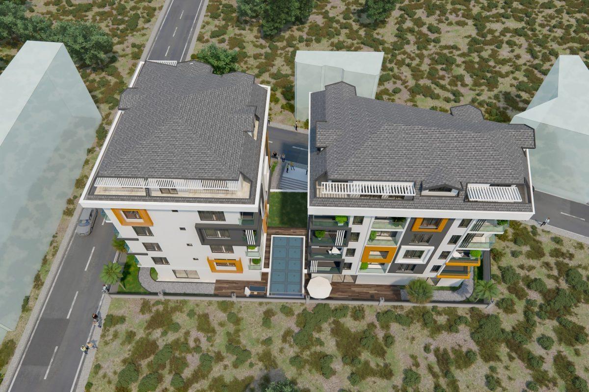 THE GATE престижный жилой комплекс в самом центре Алании - Фото 6