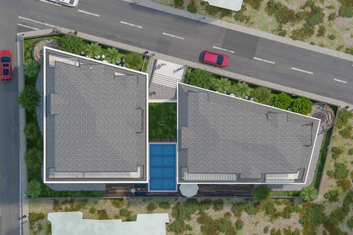 THE GATE престижный жилой комплекс в самом центре Алании - Фото 7