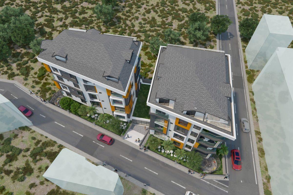 THE GATE престижный жилой комплекс в самом центре Алании - Фото 8