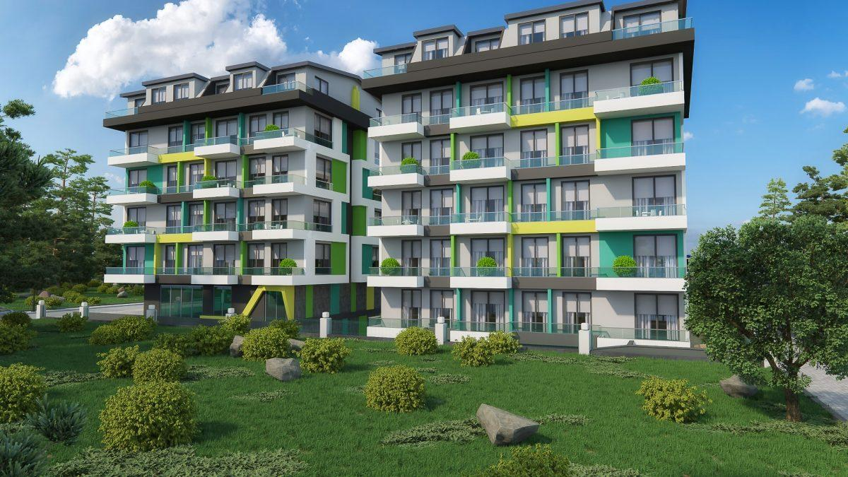 Бюджетный жилой комплекс в 300 метрах от моря, район Махмутлар - Фото 6