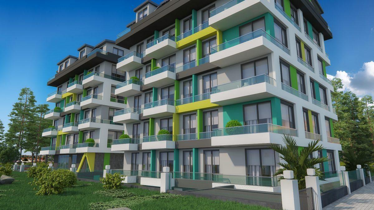 Бюджетный жилой комплекс в 300 метрах от моря, район Махмутлар - Фото 7