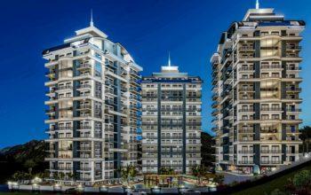 Cовременный жилой комплекс с апартаментами в стиле Loft в самом центре Махмутлара