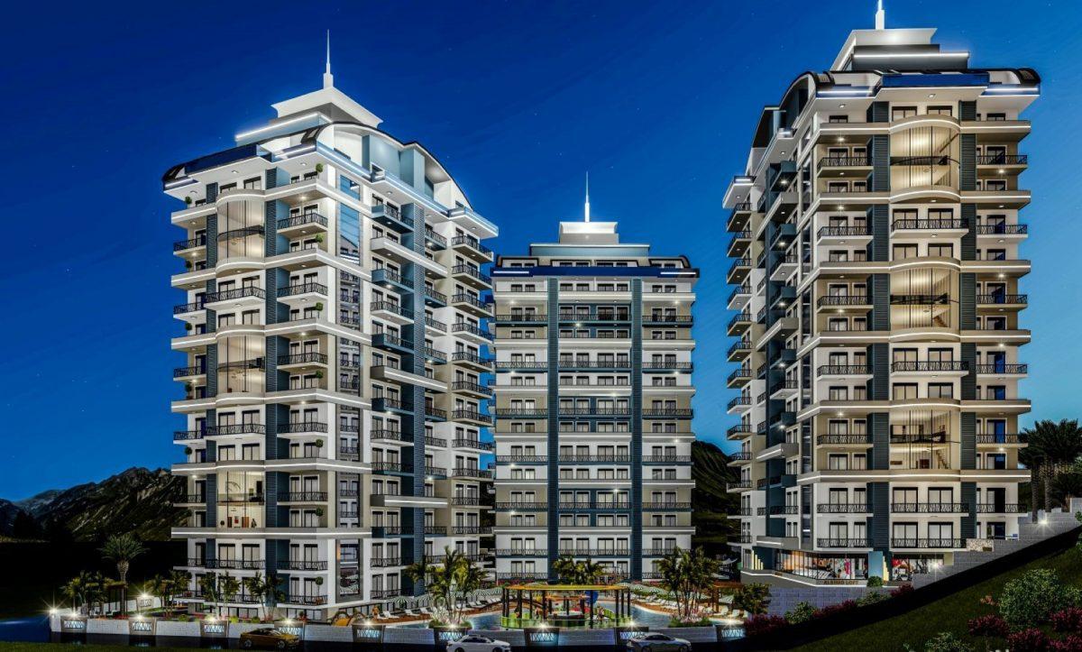 Cовременный жилой комплекс с апартаментами в стиле Loft в самом центре Махмутлара - Фото 1