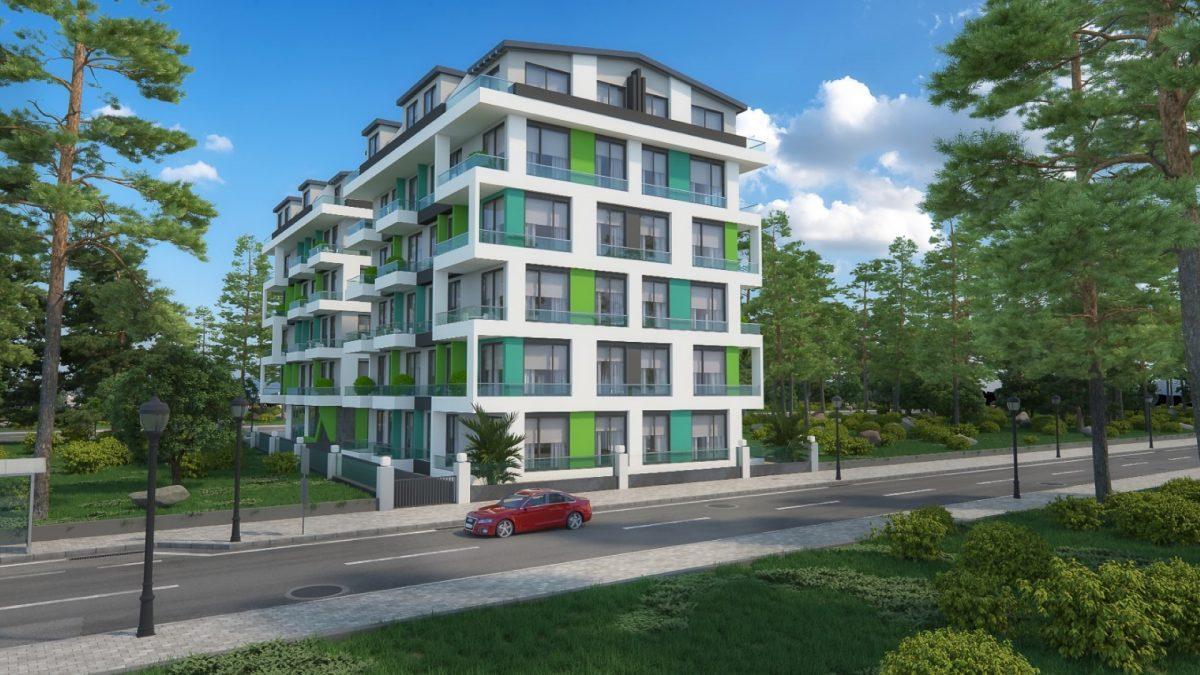 Бюджетный жилой комплекс в 300 метрах от моря, район Махмутлар - Фото 2