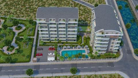 Готовый жилой комплекс недалеко от моря в районе Каргыджак - Фото 1