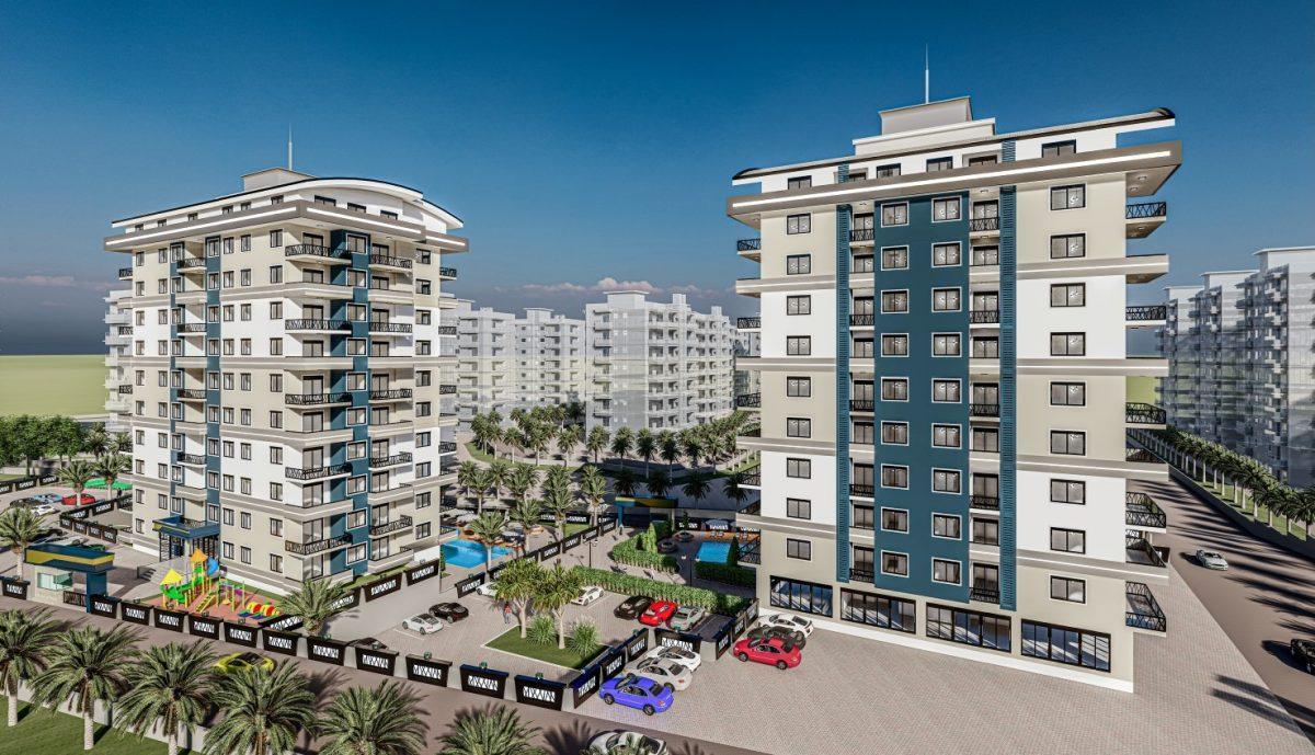 Жилой комплекс с квартирами в стиле Лофт, 600м от пляжа, Авсаллар - Фото 2