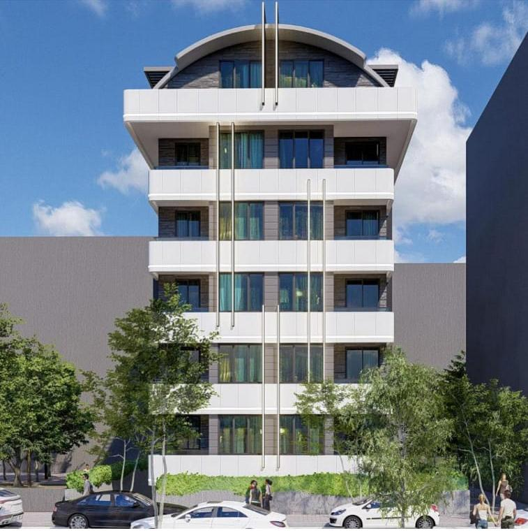 Новый элитный комплекс CİTY 7 в Центре Алании - Фото 3