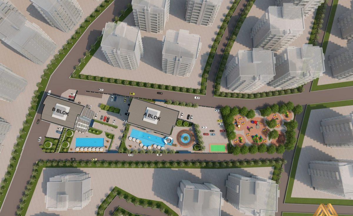 Жилой комплекс с квартирами в стиле Лофт, 600м от пляжа, Авсаллар - Фото 6