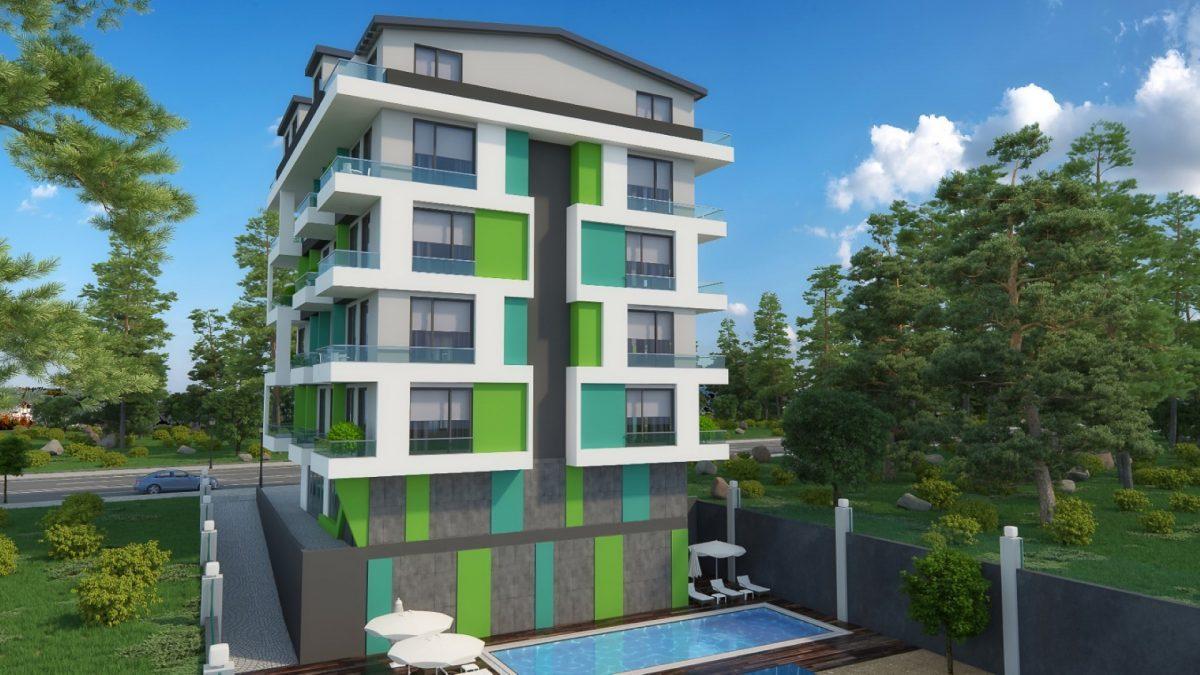 Бюджетный жилой комплекс в 300 метрах от моря, район Махмутлар - Фото 3