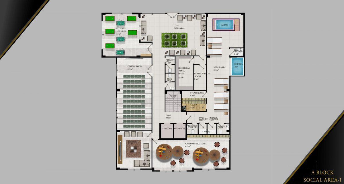 Cовременный жилой комплекс с апартаментами в стиле Loft в самом центре Махмутлара - Фото 31