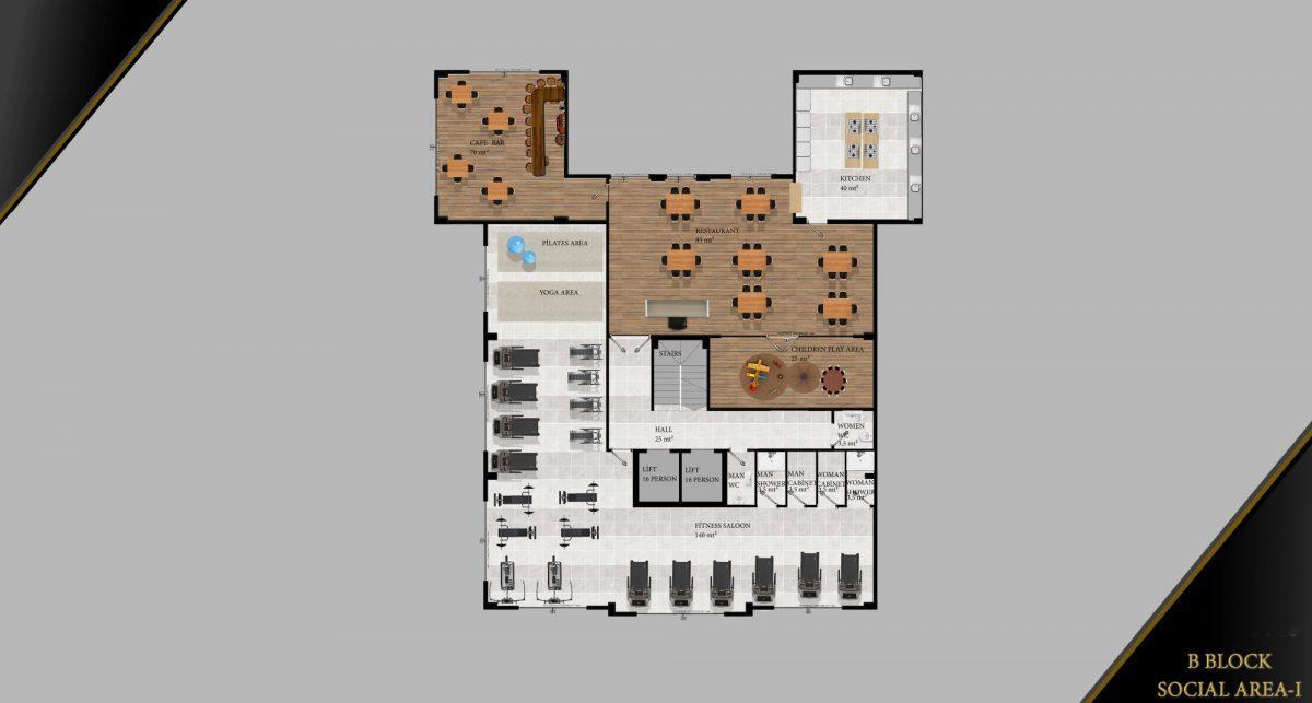 Cовременный жилой комплекс с апартаментами в стиле Loft в самом центре Махмутлара - Фото 32