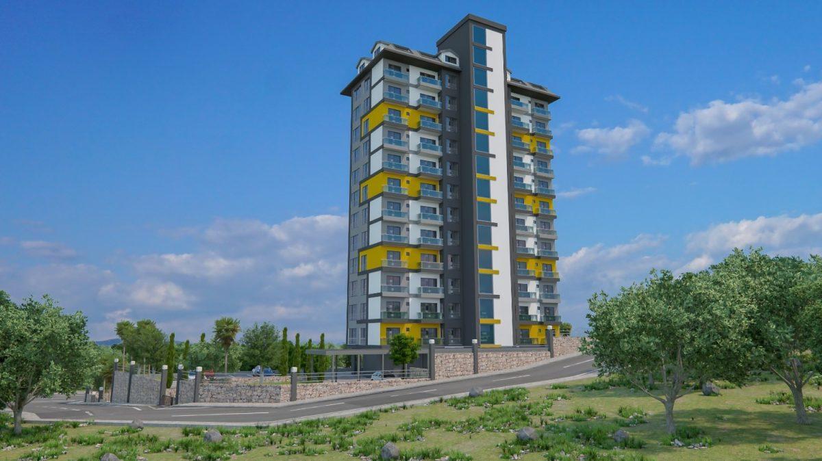Высотный жилой комплекс в живописном районе Махмутлар  - Фото 3