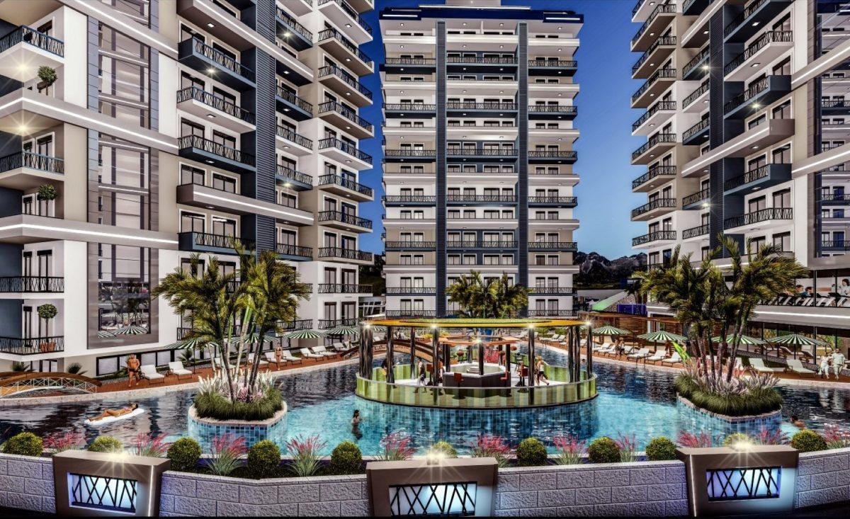 Cовременный жилой комплекс с апартаментами в стиле Loft в самом центре Махмутлара - Фото 2