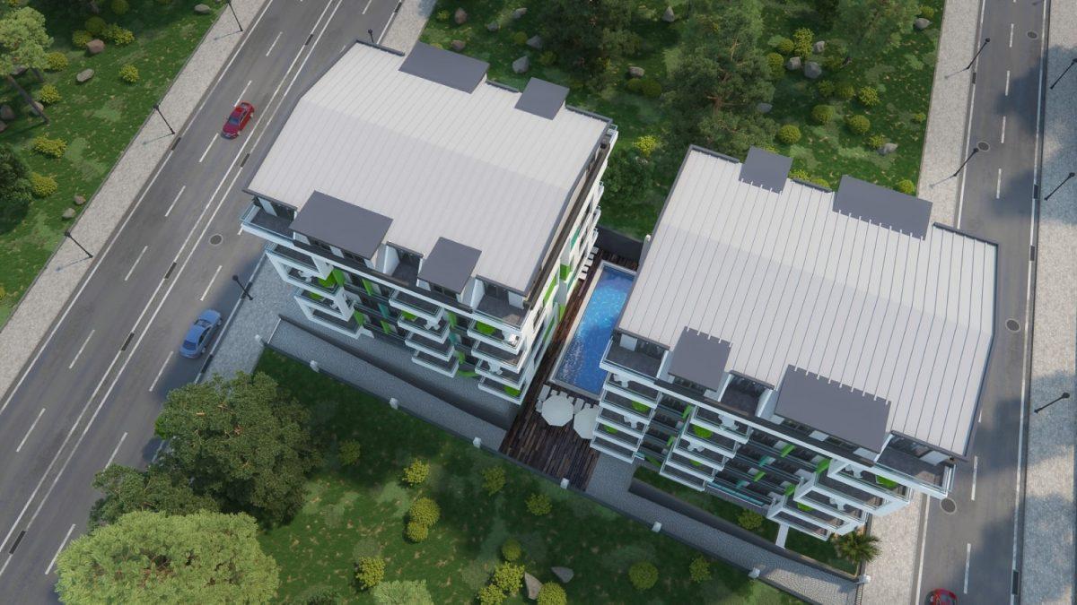 Бюджетный жилой комплекс в 300 метрах от моря, район Махмутлар - Фото 4