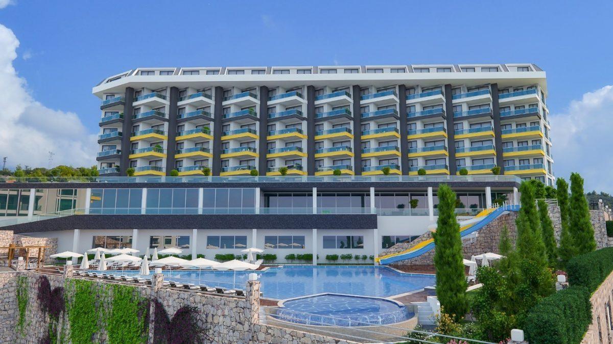Грандиозный жилой комплекс, площадью 25.000м2, на первой береговой линии с приватным пляжем  - Фото 4