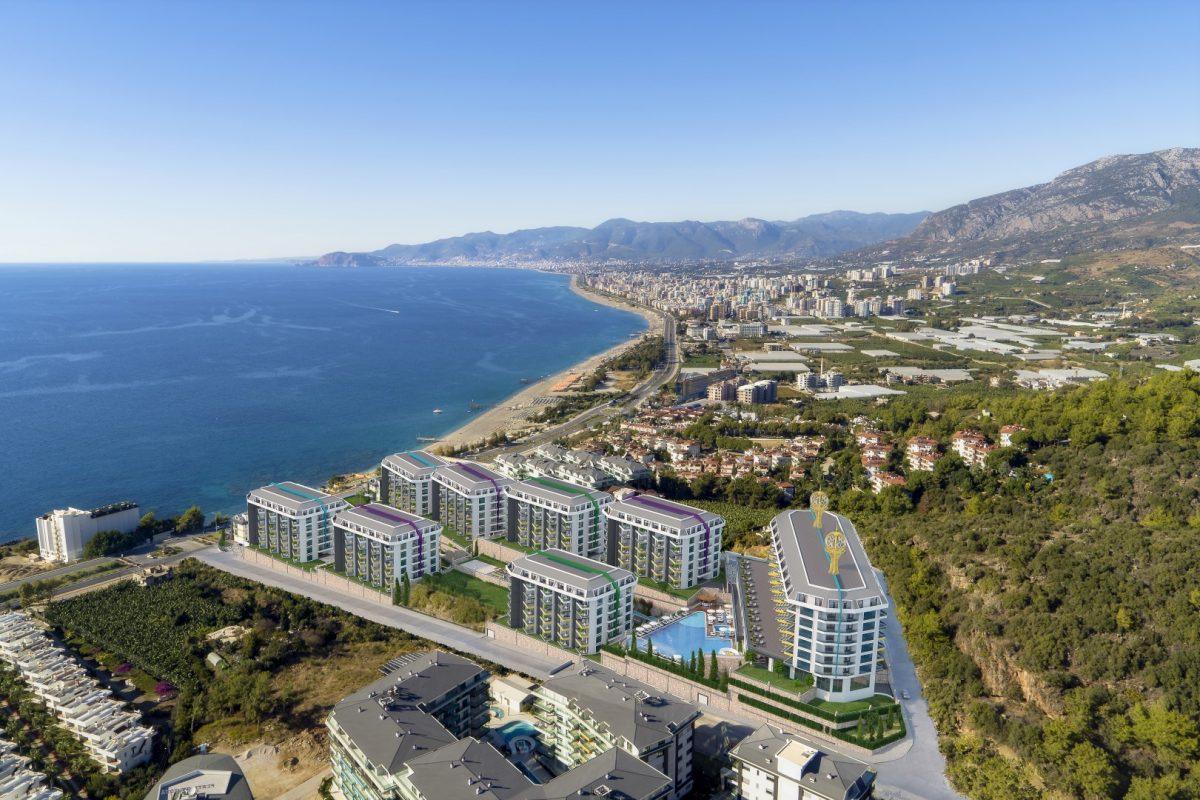 Грандиозный жилой комплекс, площадью 25.000м2, на первой береговой линии с приватным пляжем  - Фото 2