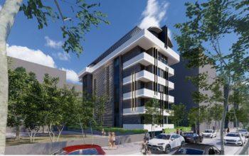 Новый элитный комплекс CİTY 7 в Центре Алании
