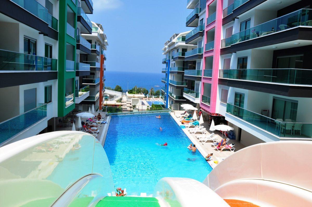 Жилой комплекс с видовыми квартирами на море, Каргыджак - Фото 1
