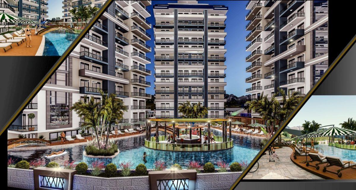 Cовременный жилой комплекс с апартаментами в стиле Loft в самом центре Махмутлара - Фото 3