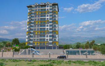 Высотный жилой комплекс в живописном районе Махмутлар