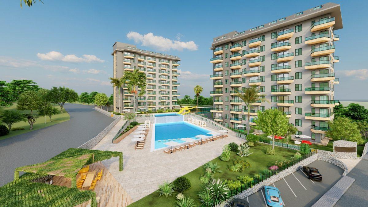 Масштабный жилой комплекс в тихом районе Авсаллар - Фото 3