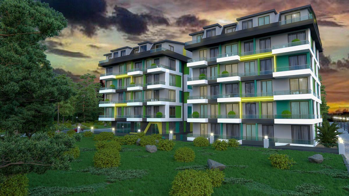 Бюджетный жилой комплекс в 300 метрах от моря, район Махмутлар - Фото 8
