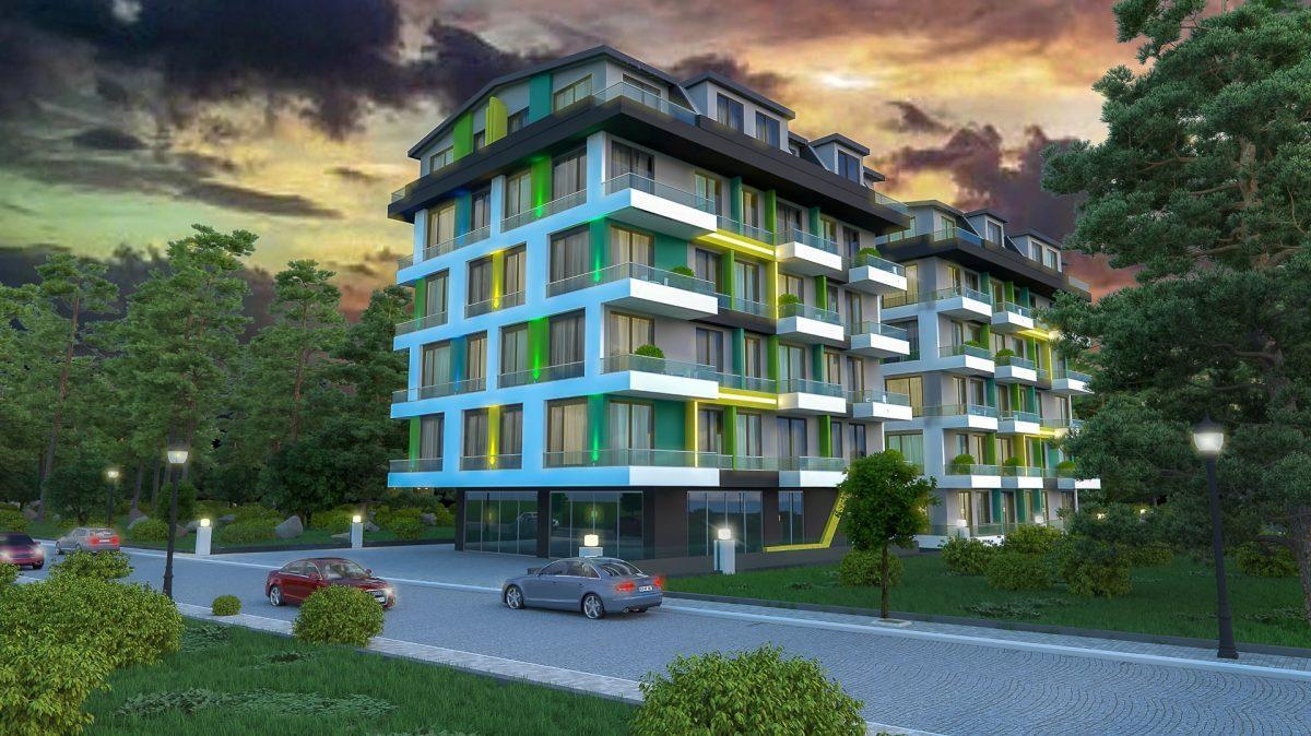 Бюджетный жилой комплекс в 300 метрах от моря, район Махмутлар - Фото 1
