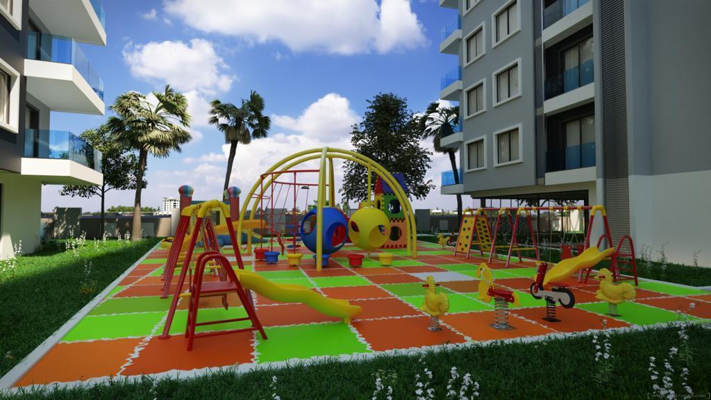 Новый комплекс на начальной стадии строительства в районе Махмутларе - Фото 3