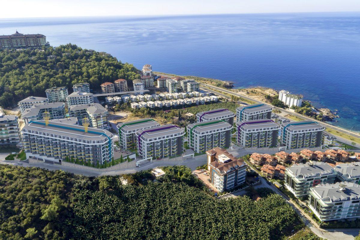 Грандиозный жилой комплекс, площадью 25.000м2, на первой береговой линии с приватным пляжем  - Фото 1