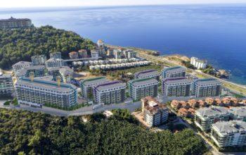 Грандиозный жилой комплекс, площадью 25.000м2, на первой береговой линии с приватным пляжем
