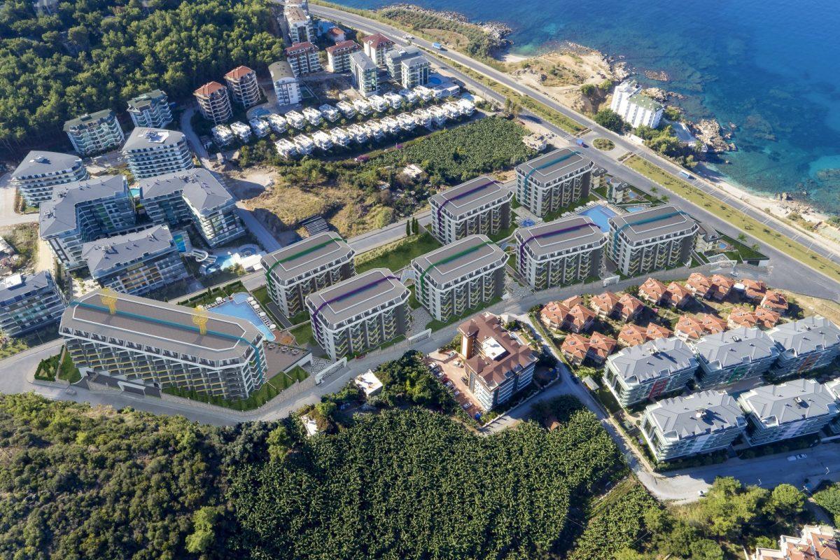 Грандиозный жилой комплекс, площадью 25.000м2, на первой береговой линии с приватным пляжем  - Фото 3