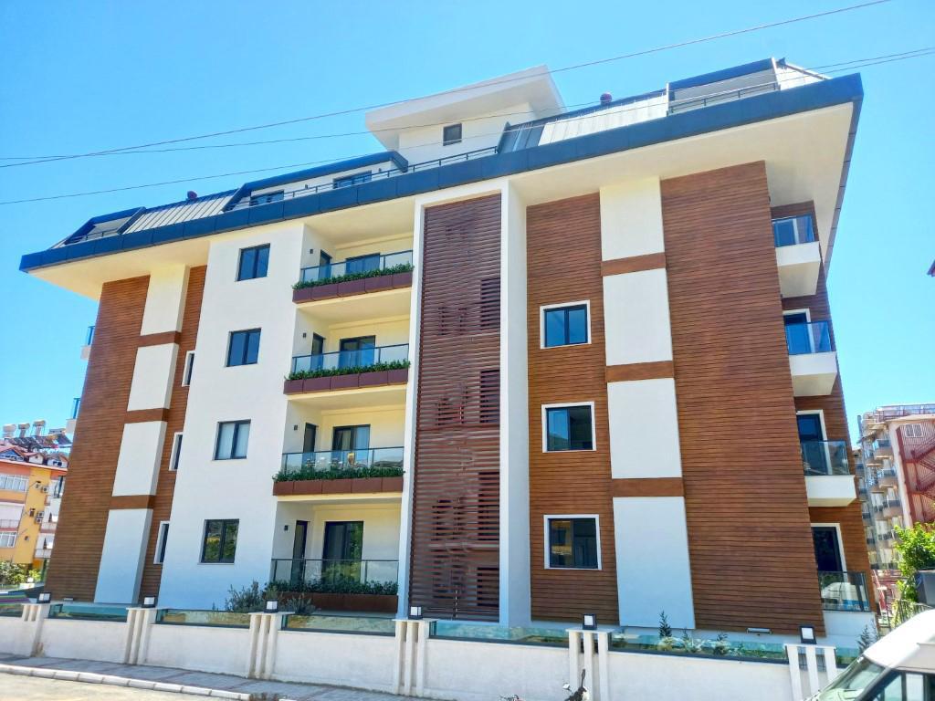 Новая квартира в центре Алании в 250 метрах от знаменитого пляжа Клеопатры - Фото 1