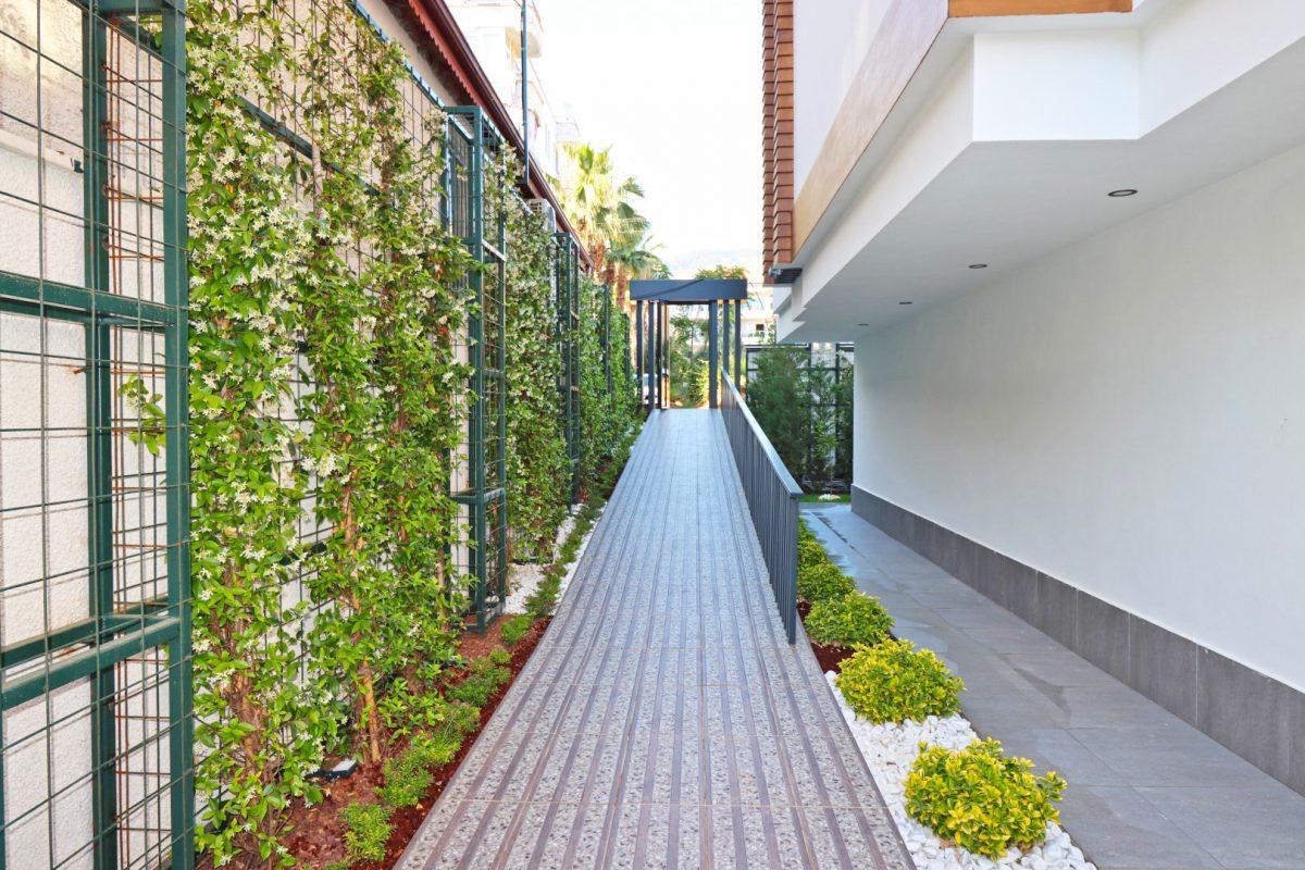 Новая двухуровневая квартира в самом центре Алании - Фото 3