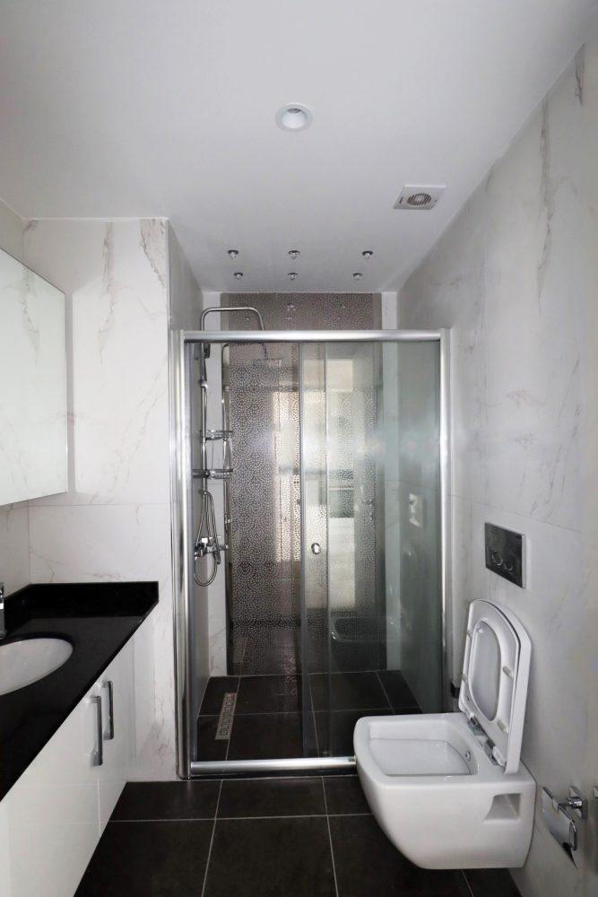 Новая квартира в центре Алании в 250 метрах от знаменитого пляжа Клеопатры - Фото 18