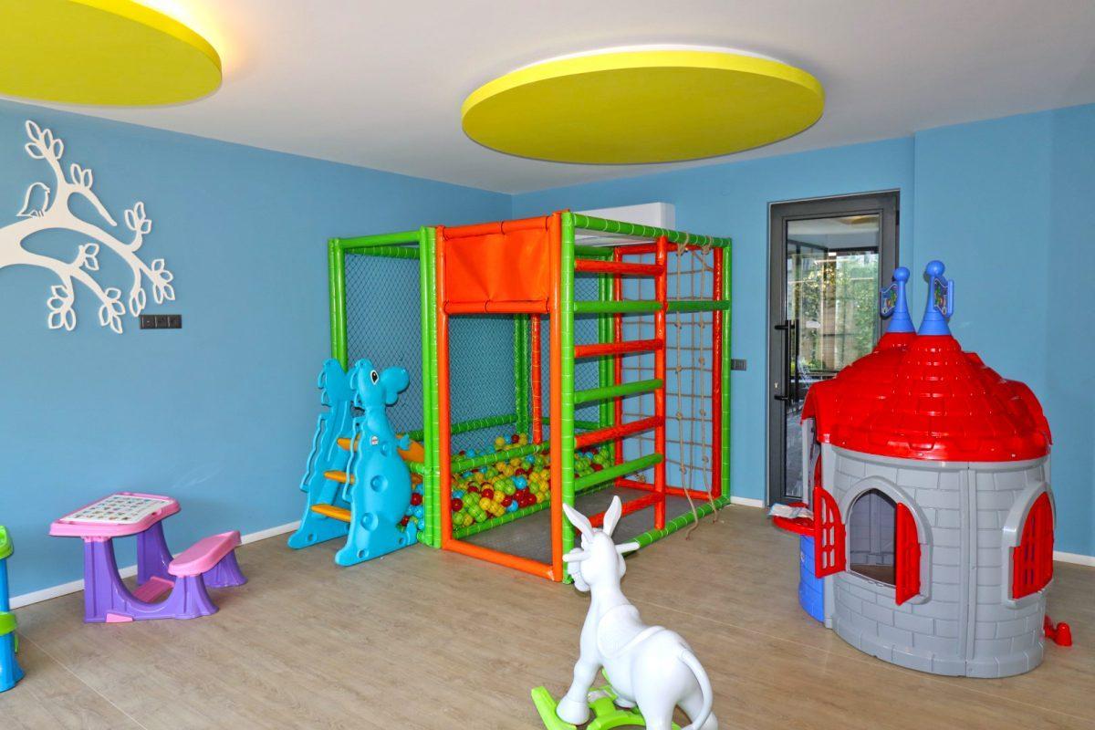 Новая двухуровневая квартира в самом центре Алании - Фото 10