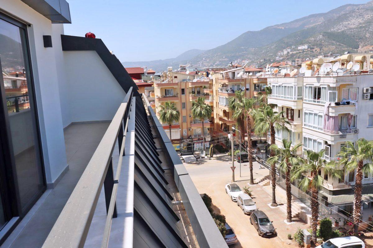 Новая двухуровневая квартира в самом центре Алании - Фото 23