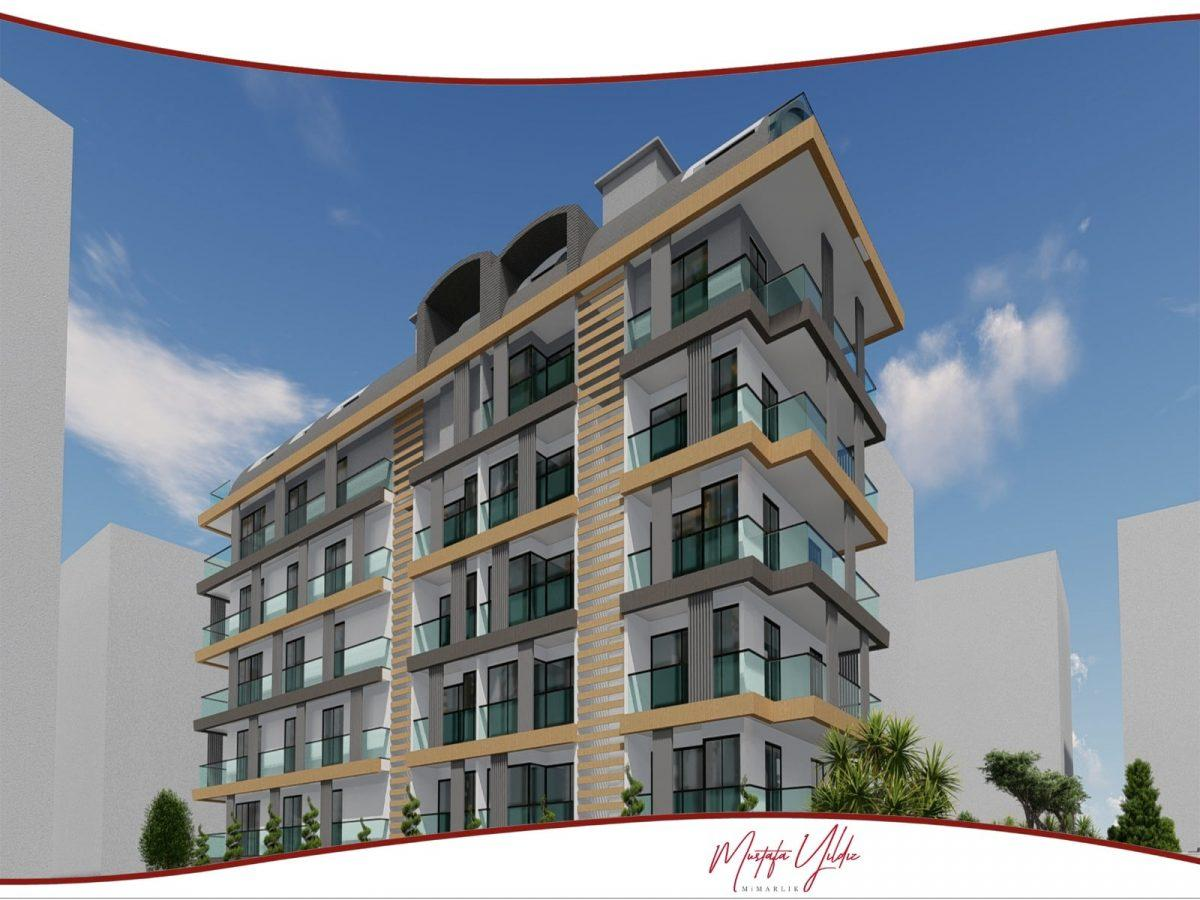 CİTY 10 Современный жилой комплекс в самом центре Алании - Фото 1