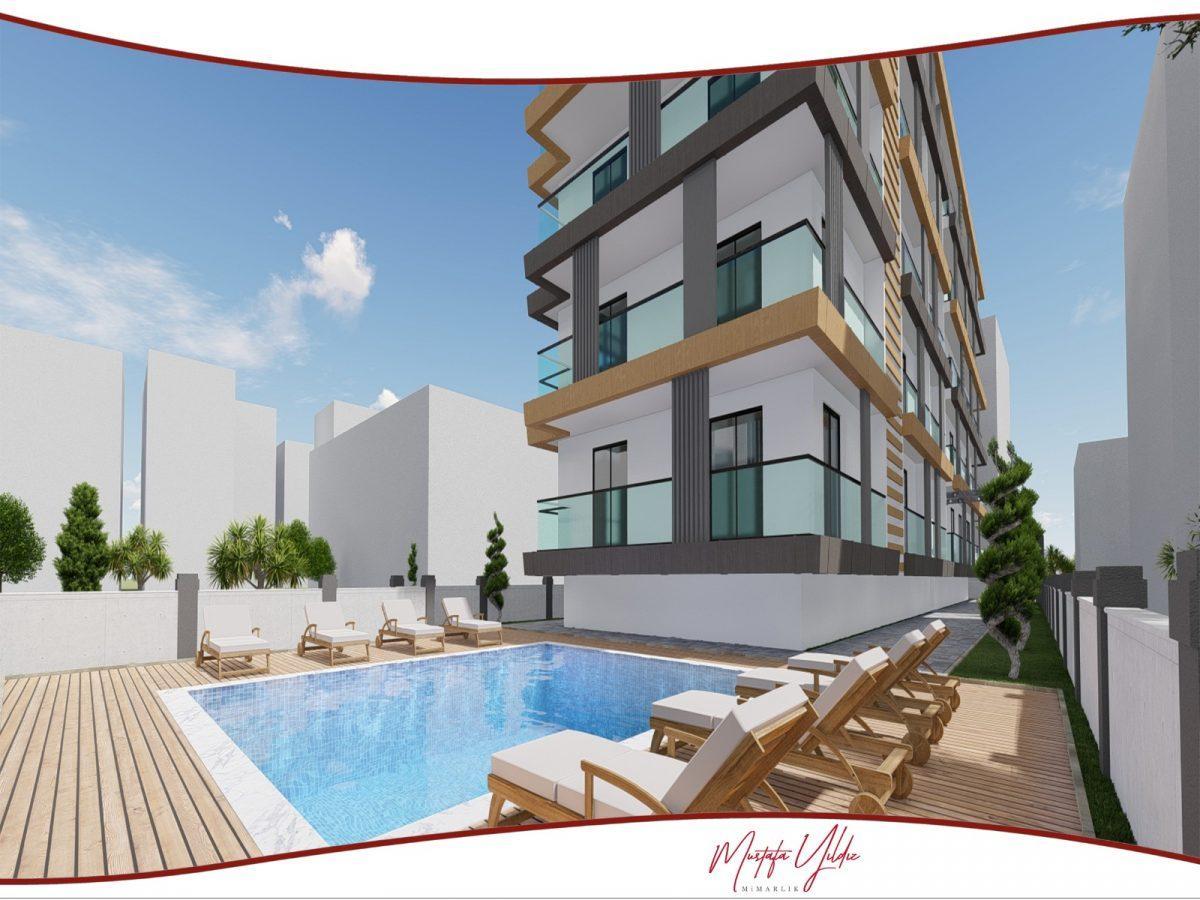 CİTY 10 Современный жилой комплекс в самом центре Алании - Фото 3