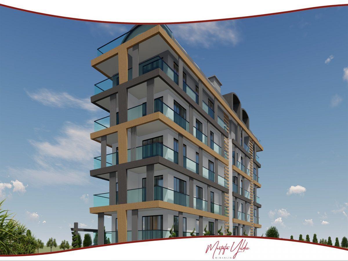 CİTY 10 Современный жилой комплекс в самом центре Алании - Фото 2