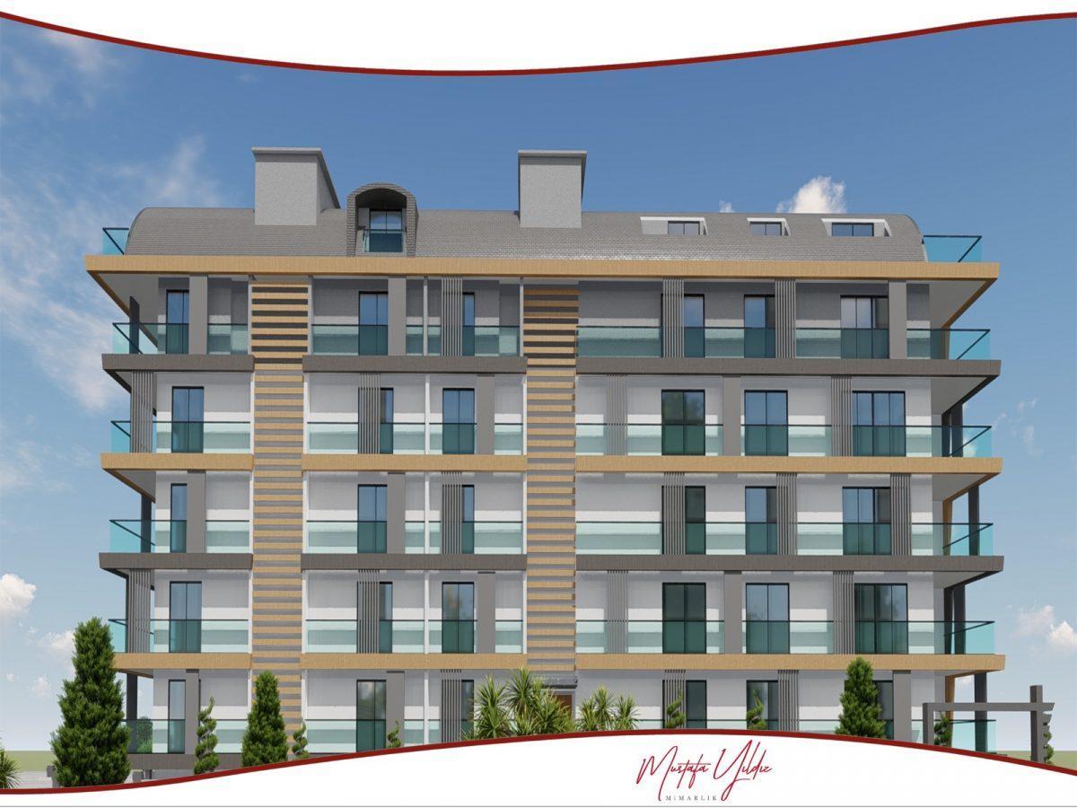 CİTY 10 Современный жилой комплекс в самом центре Алании - Фото 4