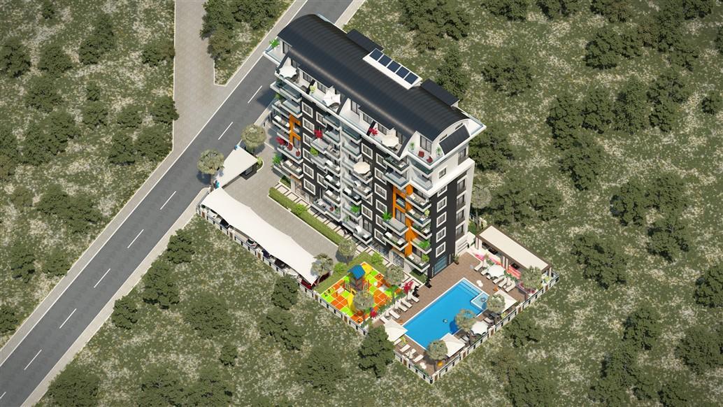 Жилой комплекс на стадии строительства в районе Авсаллар - Фото 3