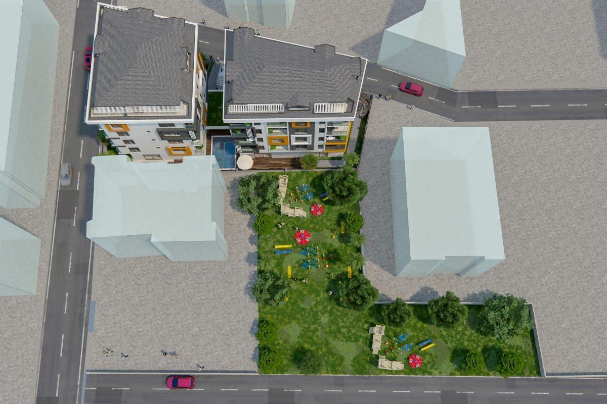 THE GATE престижный жилой комплекс в самом центре Алании - Фото 9