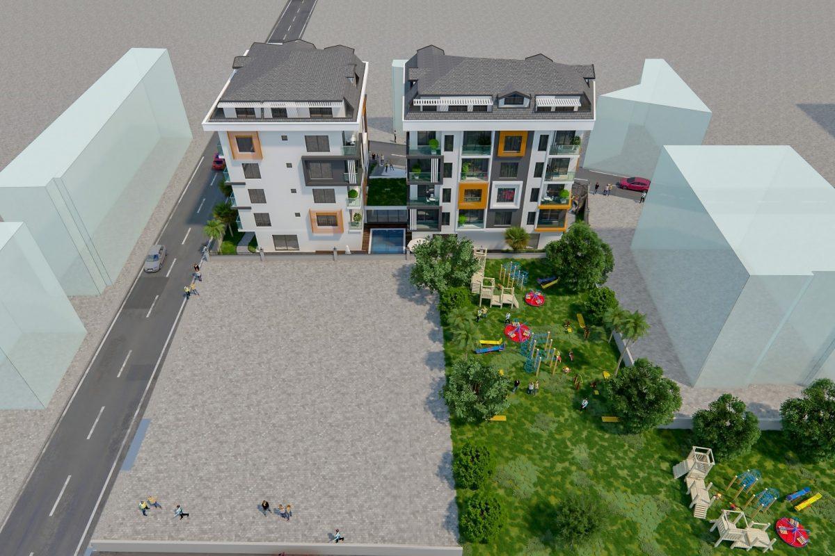 THE GATE престижный жилой комплекс в самом центре Алании - Фото 11