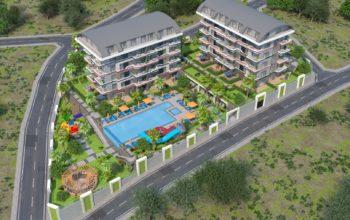 Новый жилой комплекс в элитном и чистом районе Каргыджак