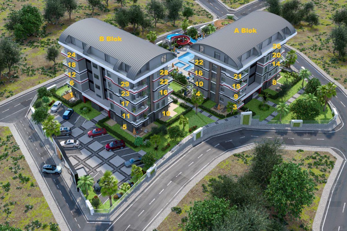 Новый жилой комплекс в элитном и чистом районе Каргыджак - Фото 7