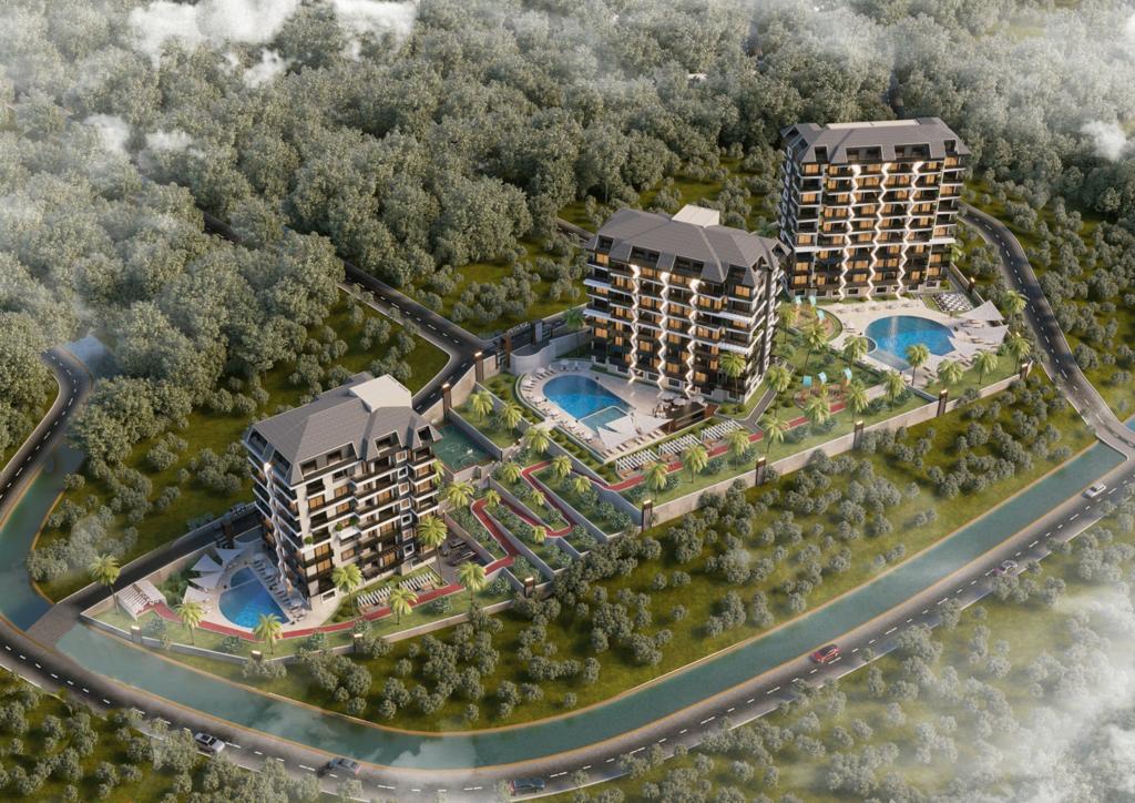 Стартовало строительство нового жилого комплекса в районе Авсаллар - Фото 1